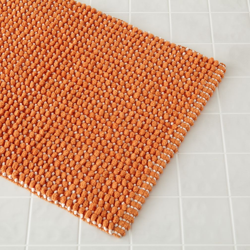 Fresh Start Bath Mat (Orange)