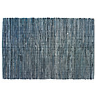 4 x 6' Denim Rag Rug