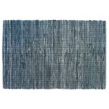 8 x 10' True Blue Rag Rug