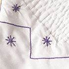 Blue Embroidery Coverlet