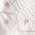 Pink Embroidery Coverlet