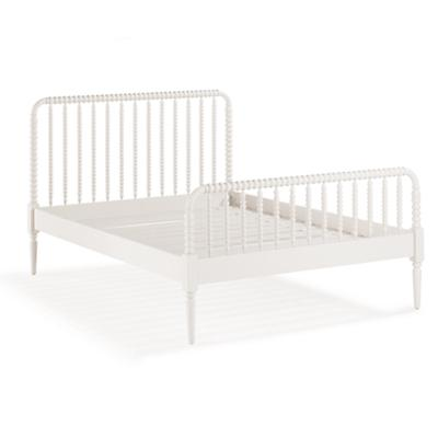 Jenny Lind Queen Bed (White)