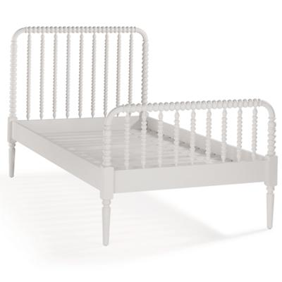 Jenny Lind Twin Bed (White)