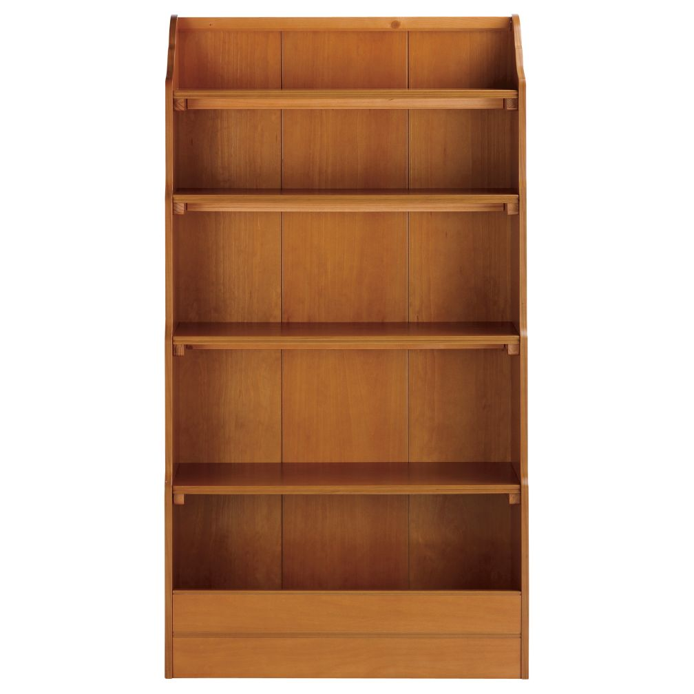 60&quot; Bankable Bookcase (Lt. Honey)