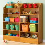 "Bankable Bookcase, 60"" (Lt. Honey)"