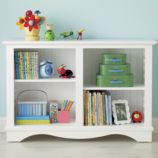 Low Rider Bookcase (White)