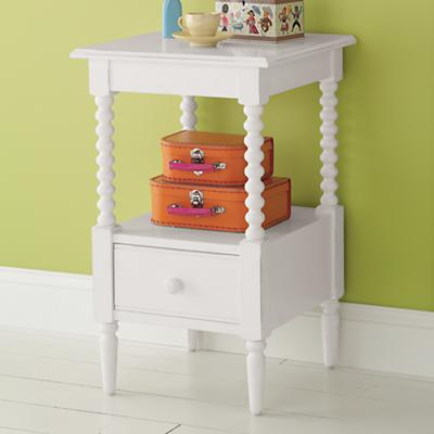 Jenny Lind Nightstand (White)