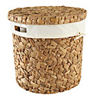 Water Hyacinth Hamper and Liner Set