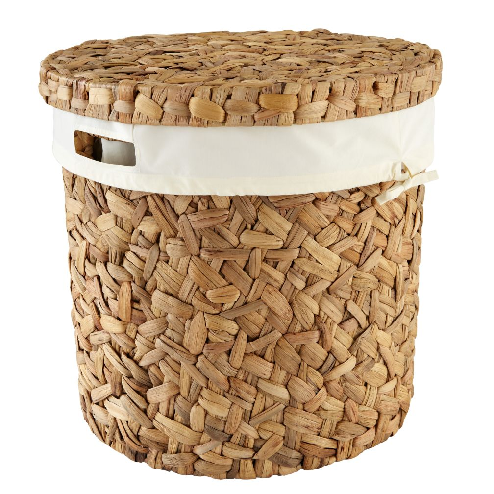Water Hyacinth Hamper and Liner