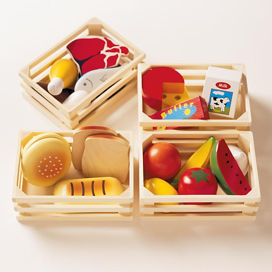 Little Food Toys : Kids play kitchen food the land of nod
