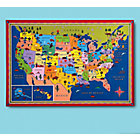Framed U.S. Wall Map