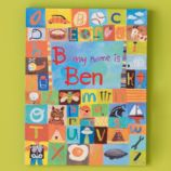 Hello my name is... Personalized Wall Art (Boy)