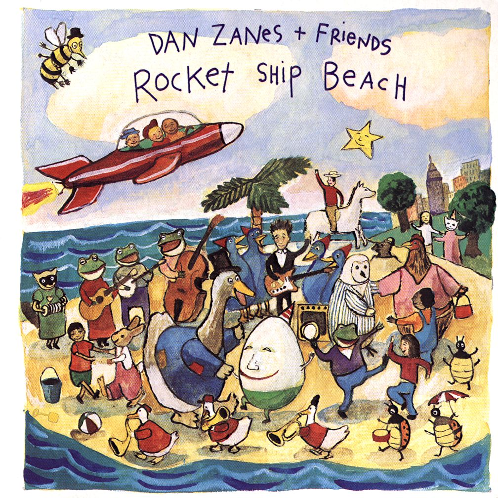 Rocket Ship Beach <br />Artist: Dan Zanes<br />