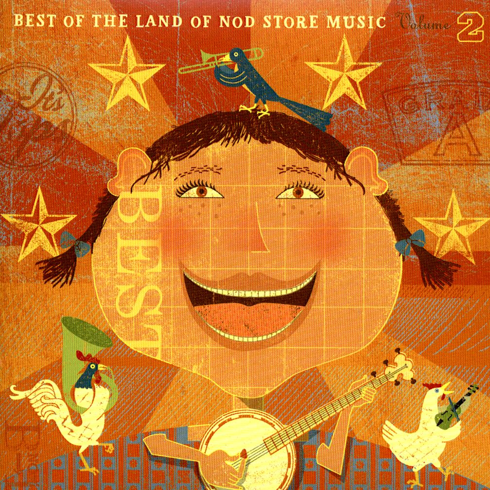 Nod&#39;s Best Kids&#39; Music CD Volume 2&lt;br />Various Artists&lt;br />