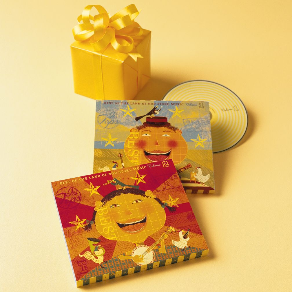 Nod's Best Kids' Music CD Set Vol. 1 & 2<br />