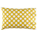 New School Yellow w/White Dot Pillowcase