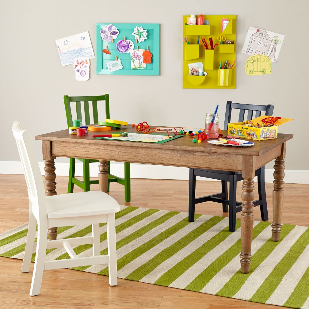 Adjustable Height Everlasting Play Table (Wheat)