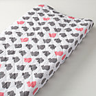 Bunny Print Changer Pad Cover