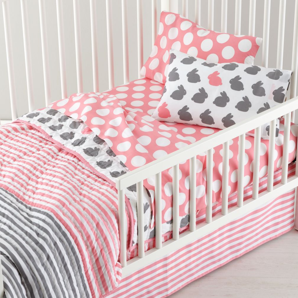 New School Toddler Bedding (Hop to It)