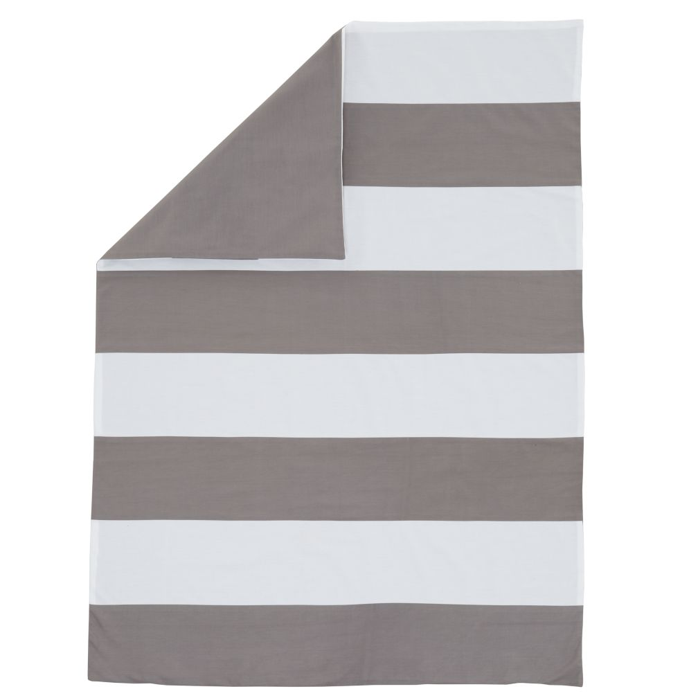 New School Toddler Duvet Cover (Widest Stripe)
