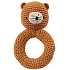 Bear Animal Knit Rattle