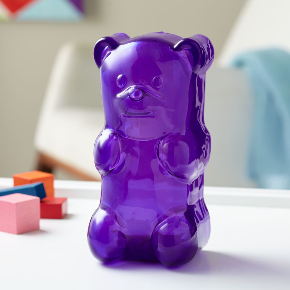Gummy Bear Nightlight (Purple)
