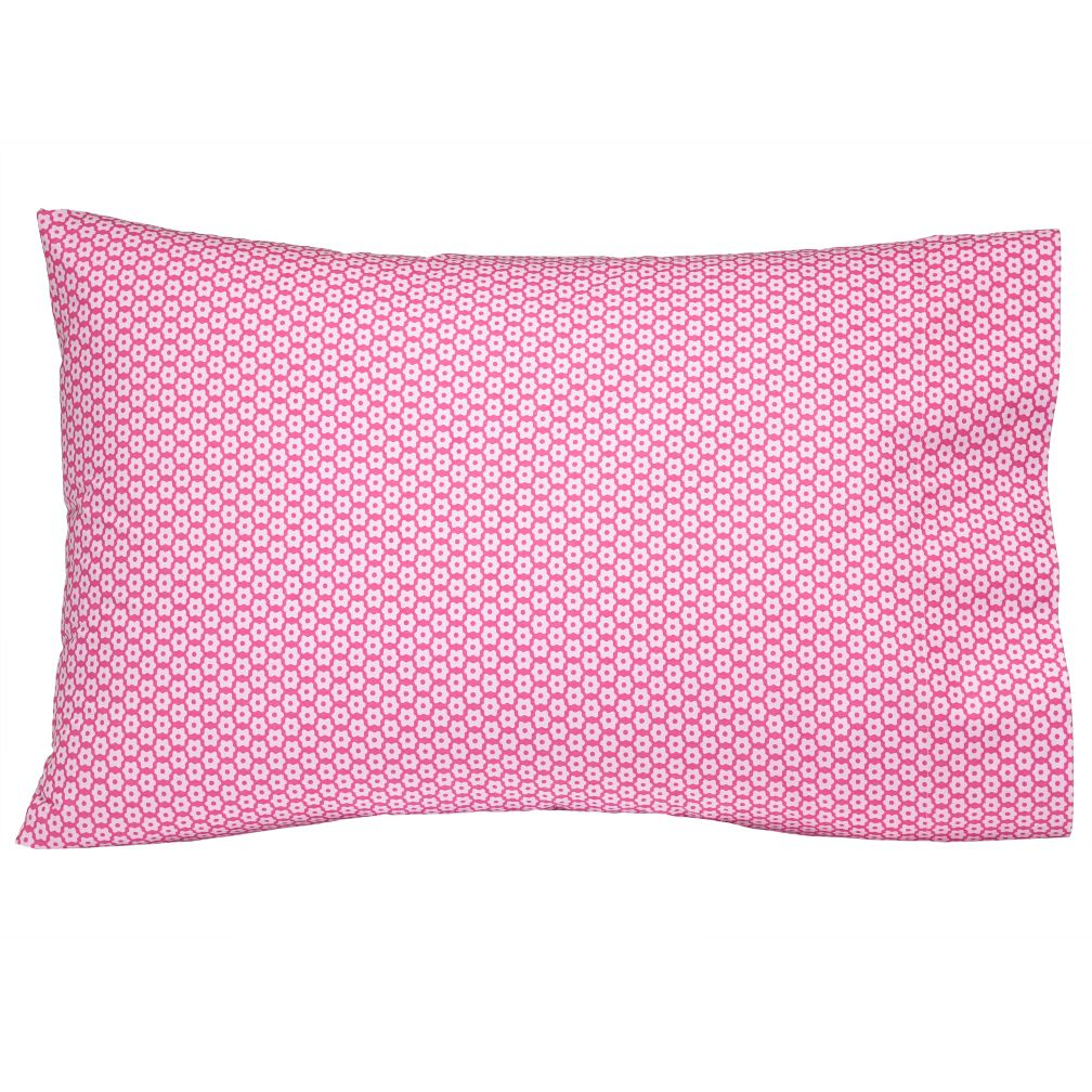 Little Pink Flowers Pillowcase