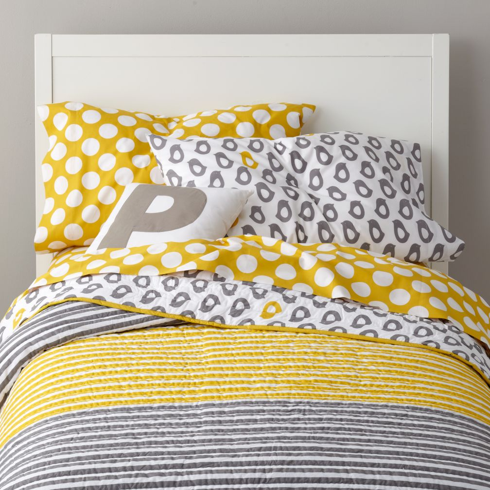 New School Kids Bedding (Not a Peep)