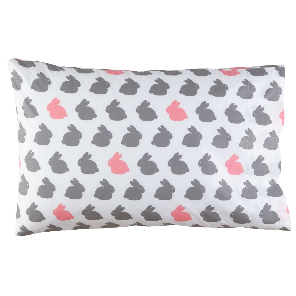 Hop to It Bunny Pillowcase