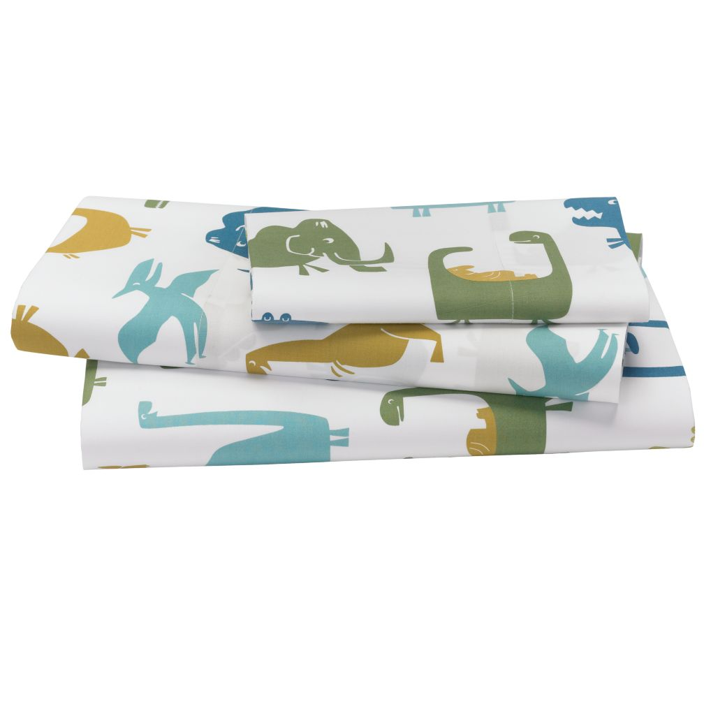 When Dinosaurs Roamed Sheet Set (Twin)