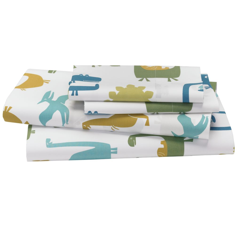 When Dinosaurs Roamed Sheet Set (Full)