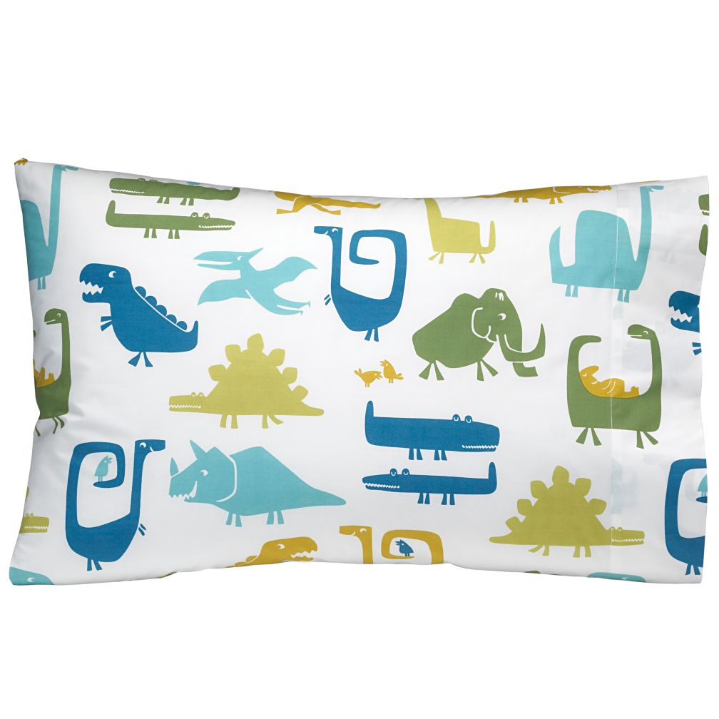 When Dinosaurs Roamed Pillowcase