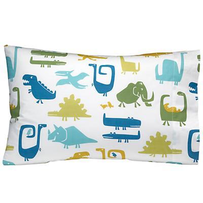 When Dinosaurs Roamed Pillowcase