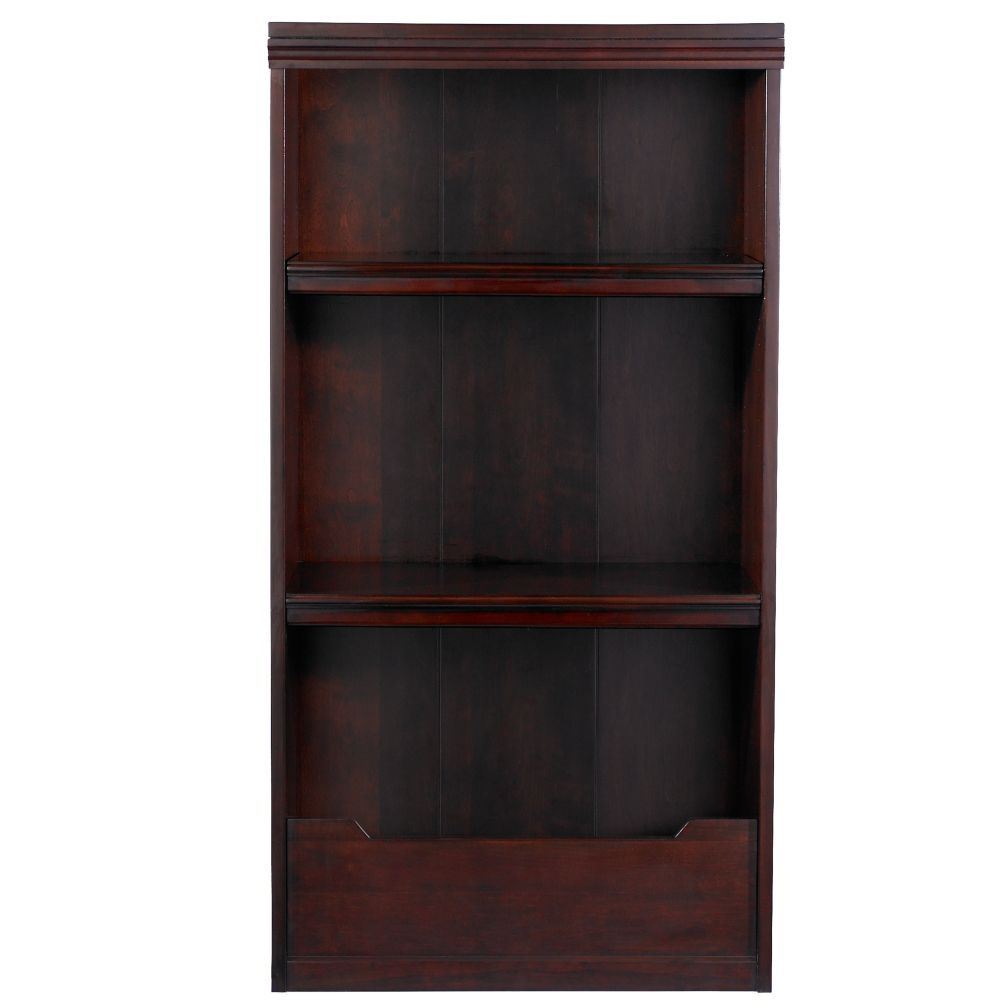 "48"" Flat Top Bookcase (Espresso)"
