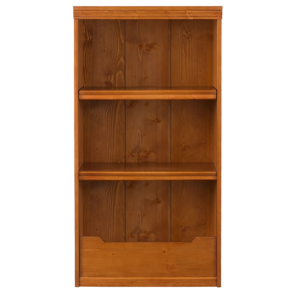 48&quot; Flat Top Bookcase (Lt. Honey)