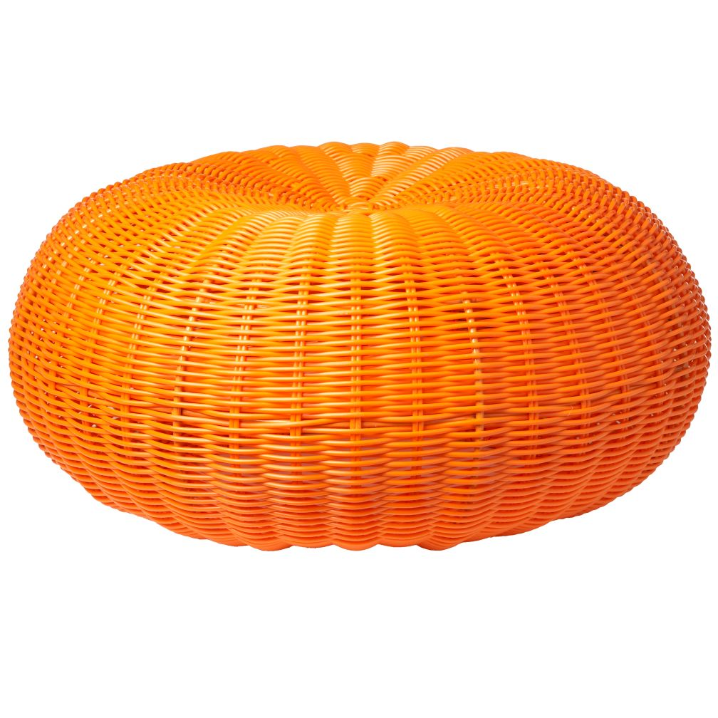 Orange Tuffet Seater