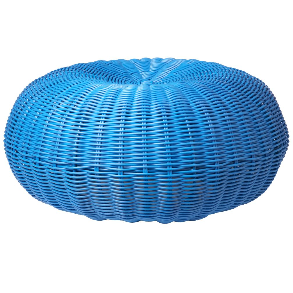 Blue Tuffet Seater
