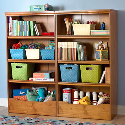 "Flat Top Bookcase, 60"" (Lt. Honey)"