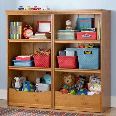 "Flat Top Bookcase, 48"" (Light Honey)"