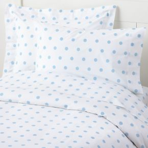 Dots Duvet Cover (Blue)