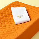Orange Changing Pad Cover