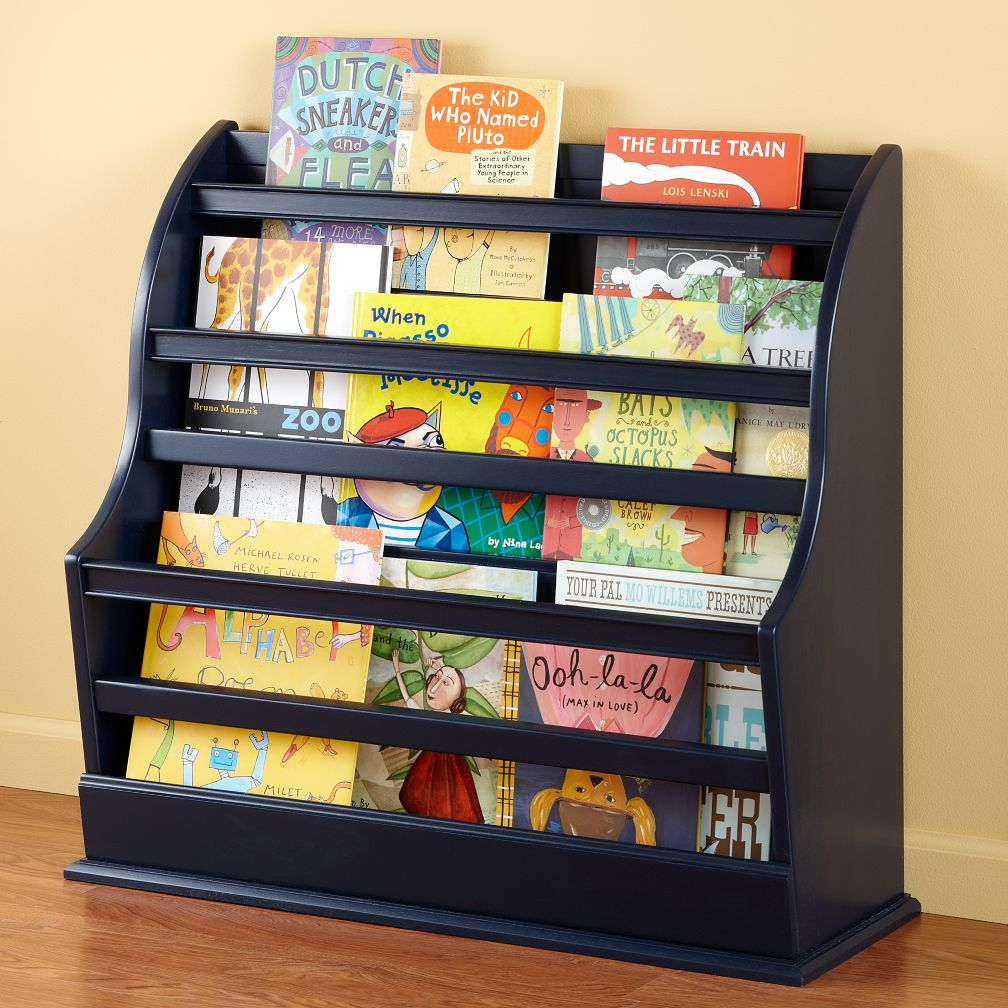 Bin There Done That Floor Book Bin (Midnight Blue)