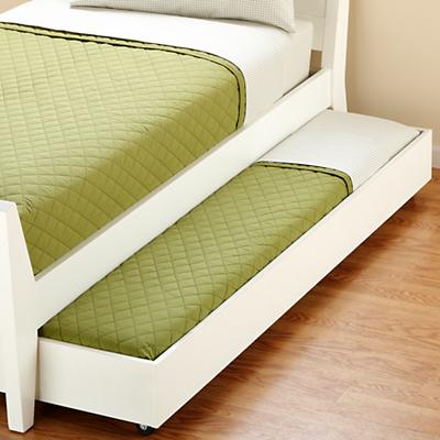 Blake Storage Trundle (White)
