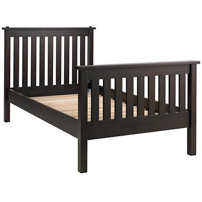 Twin Simple Bed (Espresso)