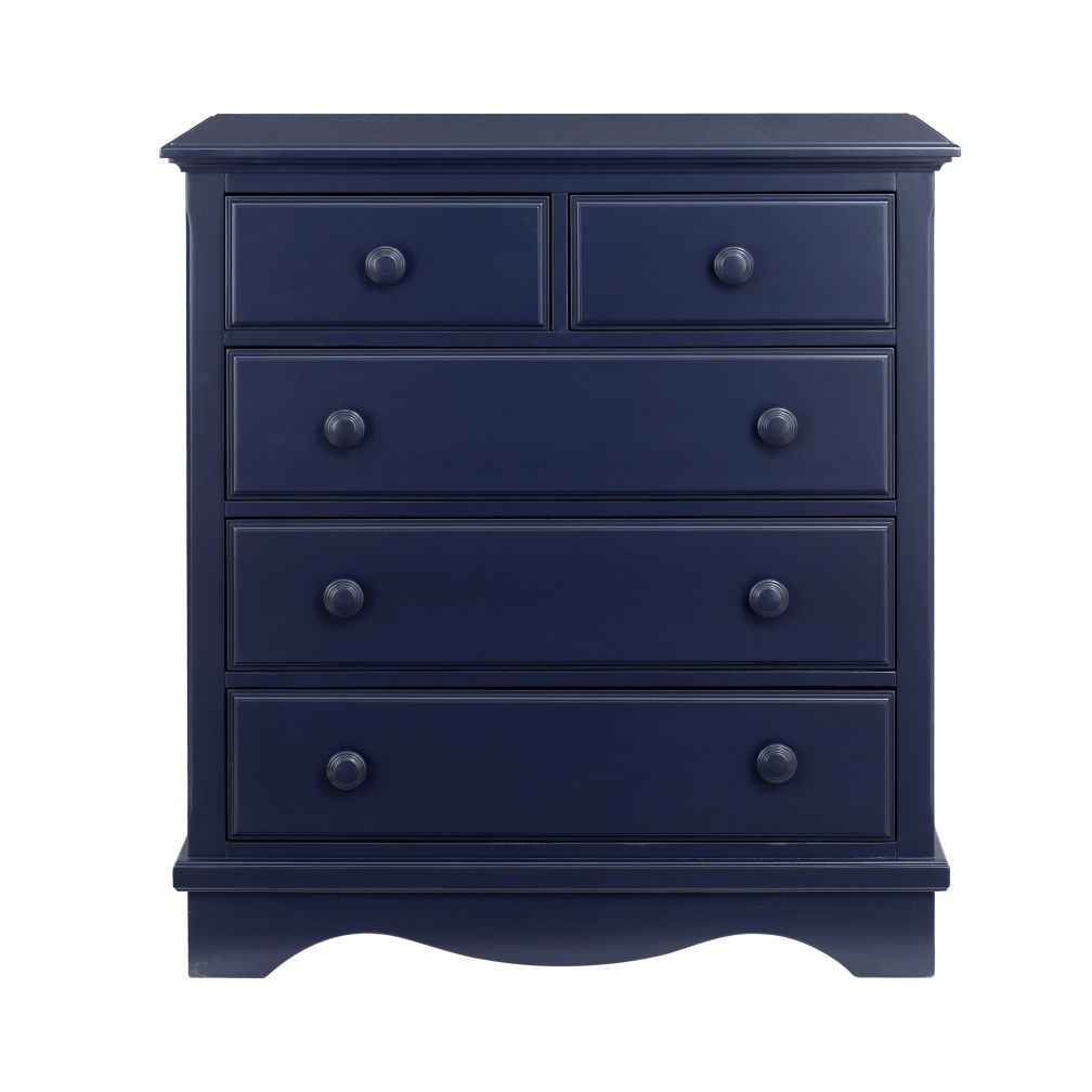 Midnight Blue 2-Over-3 Dresser