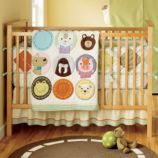 All Creatures Great and Small Crib Bedding