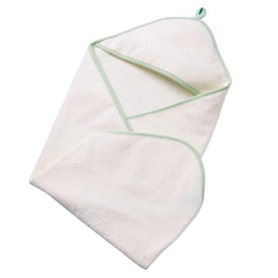 Organic White Hooded Towel