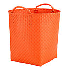 Orange Floor Bin
