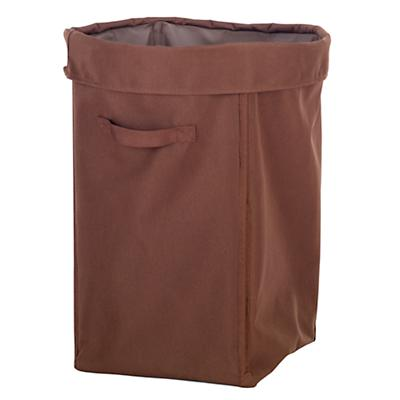 I Think I Canvas Hamper (Brown)