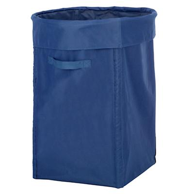 I Think I Canvas Hamper (Blue)